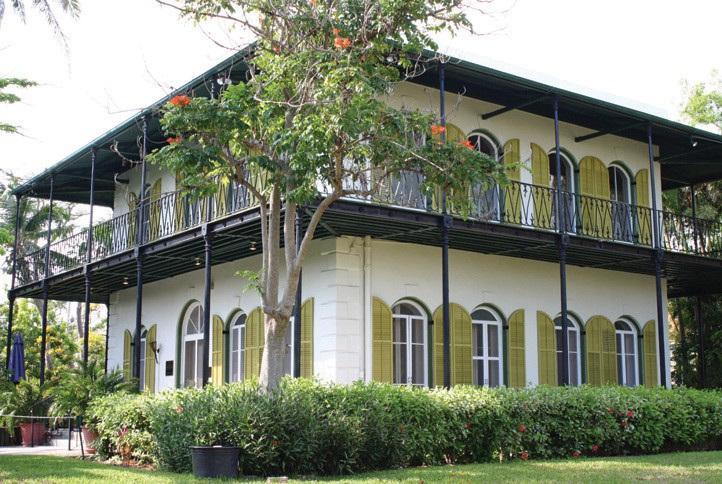 Ernest Hemingway's Whitehead Street home. COURTESY PHOTO
