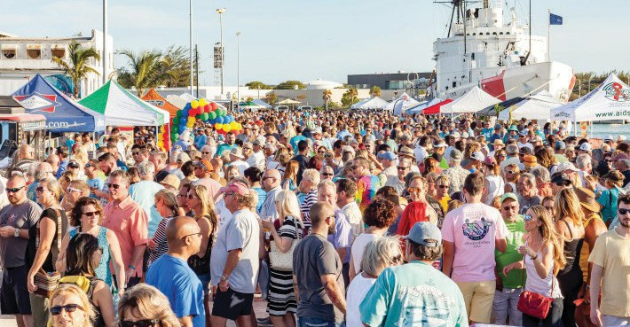 Thousands are drawn to Taste of Key West. COURTESY PHOTO
