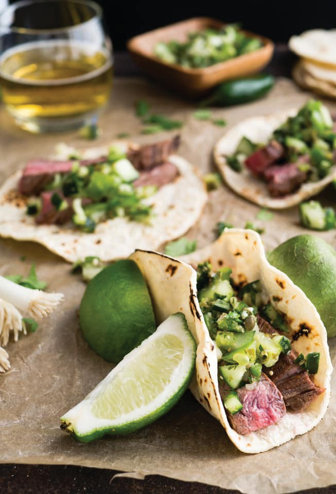 Fresh fish tacos are a staple at Taste of Key West. COURTESY PHOTO