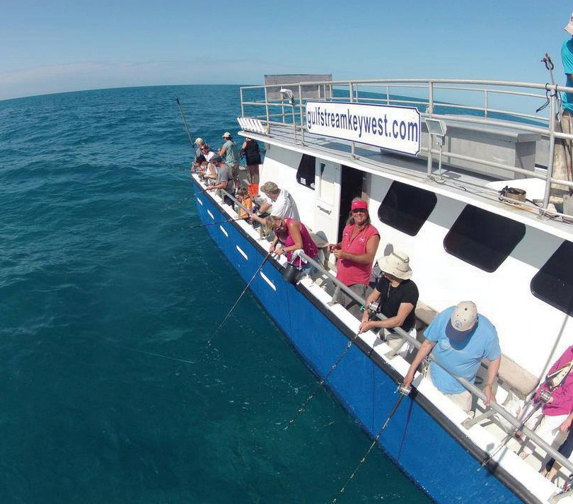 ¦ Gulfstream Fishing Key West: Is there anything more fun than fishing with friends? — Gulfstream Fishing Key West 1801 N. Roosevelt Blvd., Key West 305-296-8494 www.gulfstreamkeywest.com