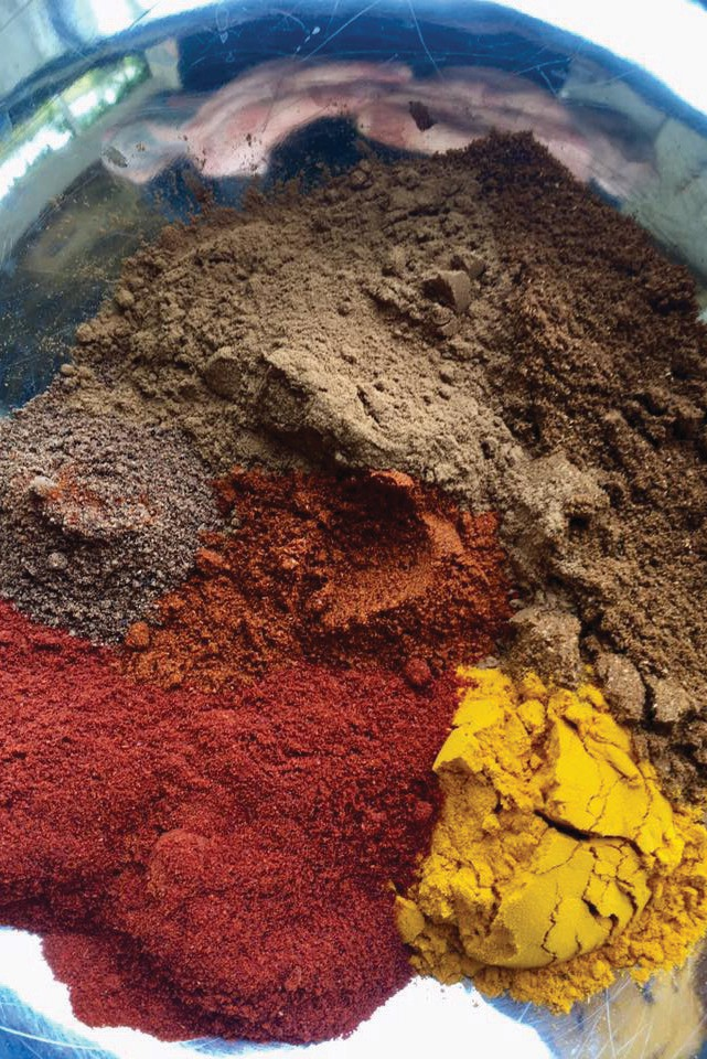 Spice is the bouquet of Indian food.