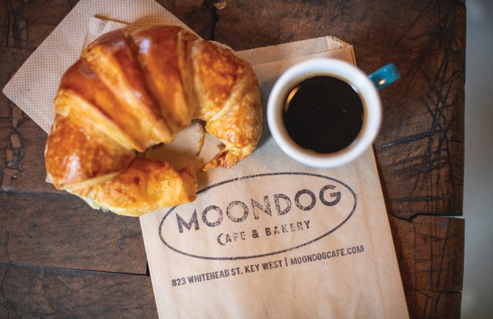 Moondog features fresh baked goods daily.