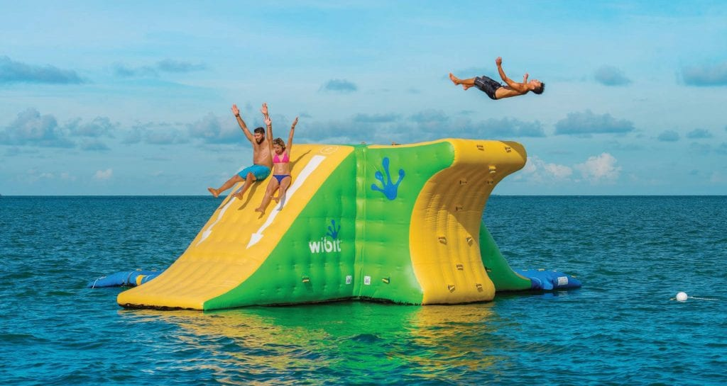 Hop on one of Fury's daytime trips and experience an aquatic playground. FURY WATER ADVENTURES / COURTESY PHOTO