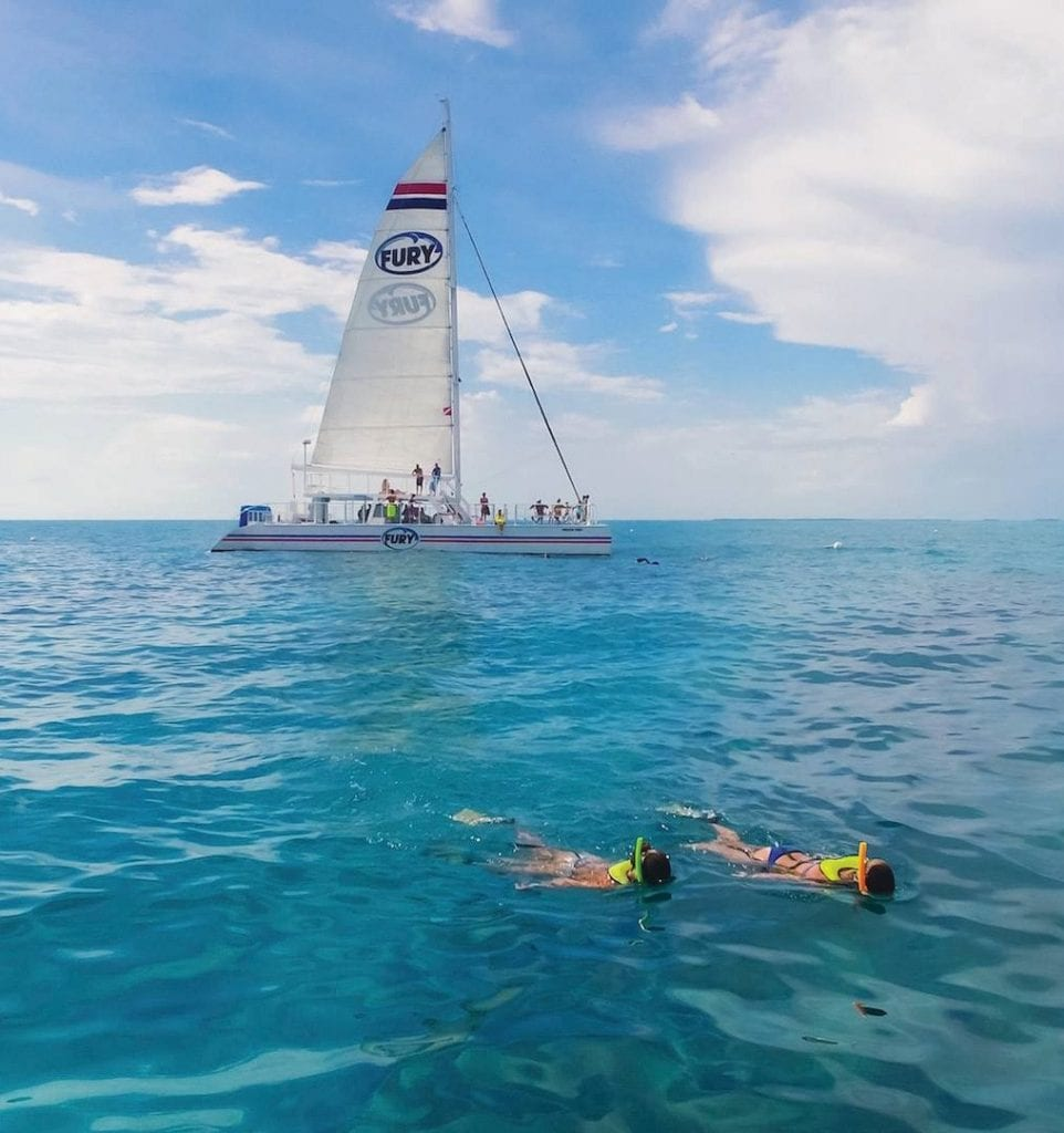 Snorkel the beautiful Florida Keys reefs with Fury. FURY WATER ADVENTURES / COURTESY PHOTO