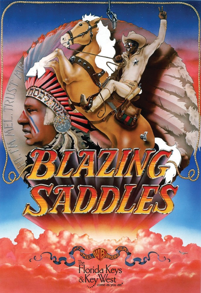 """Monday Night Classics: """"Blazing Saddles,"""" June 10, 6:30 p.m., Tropic Cinema, 416 Eaton St., www.tropiccinema.com. The Mel Brooks classic (co-written by Richard Pryor) gives a new spin to the Old West."""