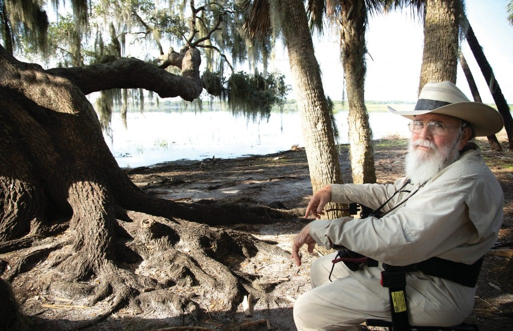 """""""I had photographed a lot of the Myakka River ecosystem before my stroke, but after my stroke Myakka River State Park saved my life spirit,"""" Clyde Butcher said. VANDY MAJOR / FLORIDA WEEKLY"""
