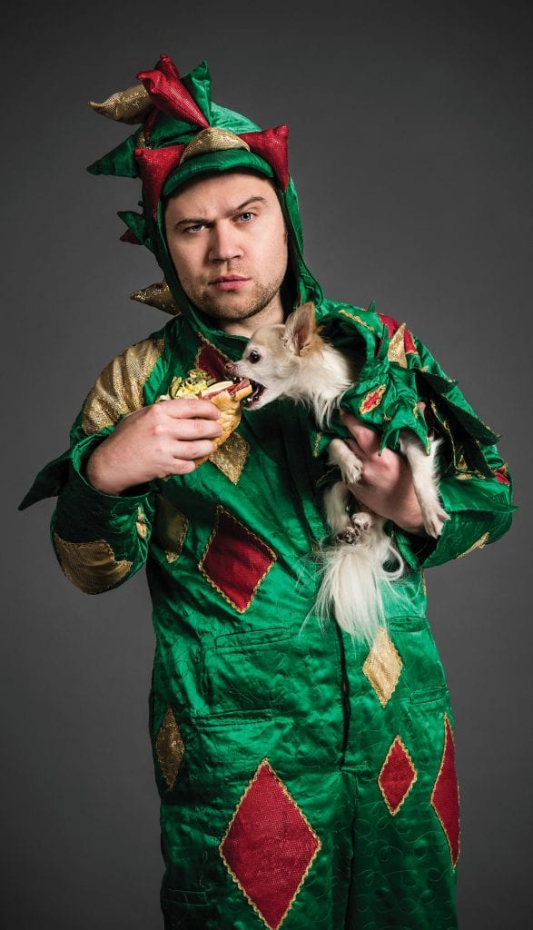 Piff the Magic Dragon and Mr. Piffles will play the Key West Theater Saturday, June 15. COURTESY PHOTO
