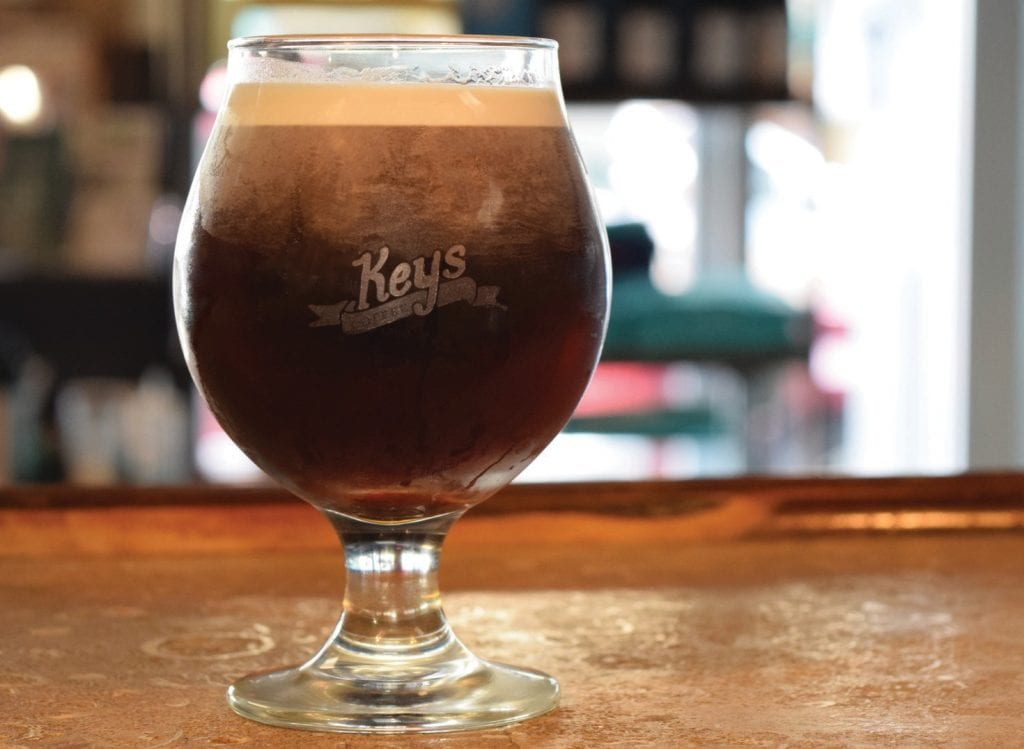 Sip on a nice cool nitro brew this summer. KEYS COFFEE COMPANY / COURTESY PHOTO