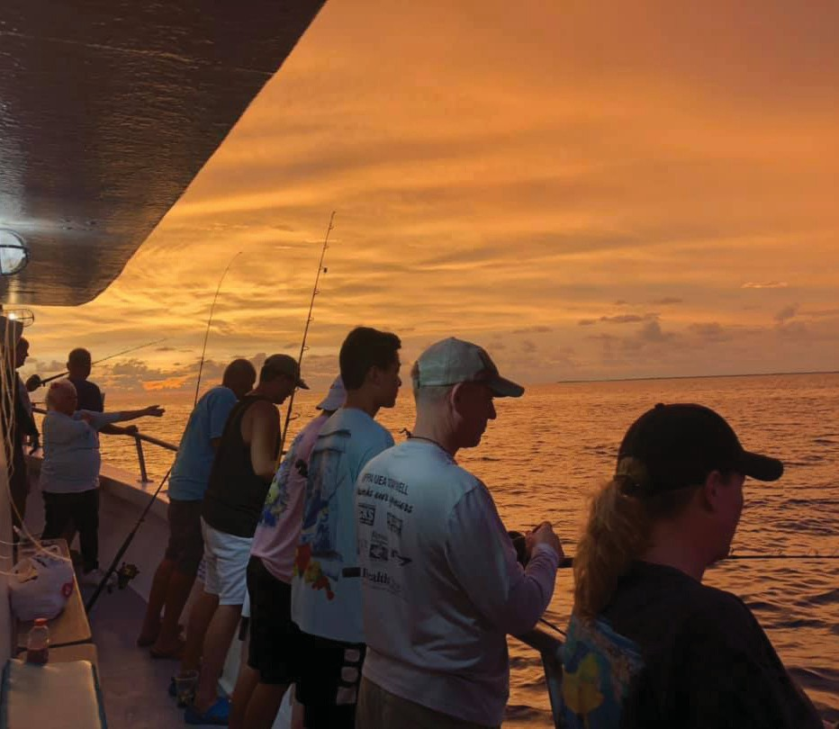 Gulfstream Fishing Key West: What an amazing night to fish! — Gulfstream Fishing Key West 1801 N. Roosevelt Blvd., Key West 305-296-8494 www.gulfstreamkeywest.com