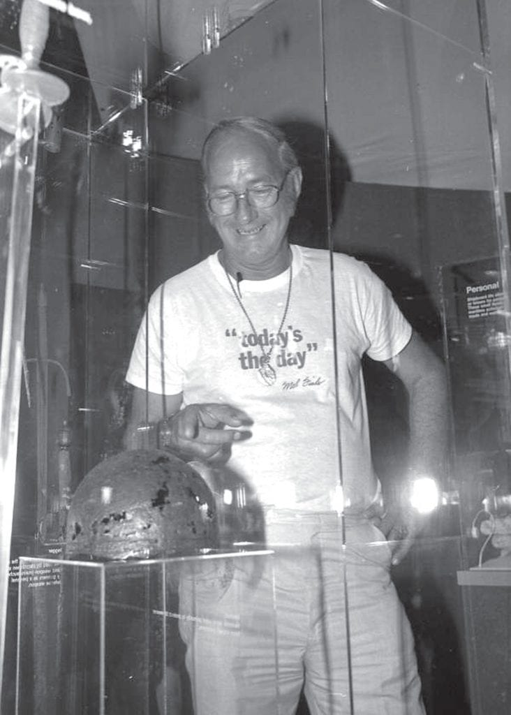 Treasure hunter Mel Fisher of Treasure Salvors viewing an item retrieved from the Atocha shipwreck in 1978. STATE ARCHIVES OF FLORIDA, FLORIDA MEMORY