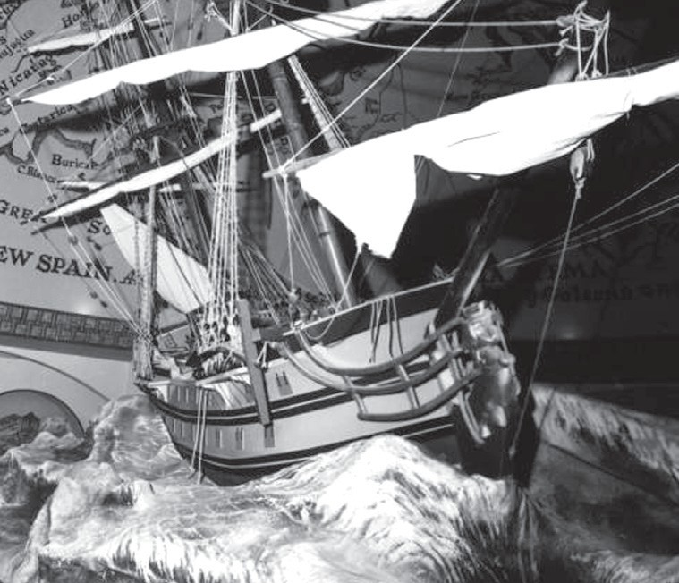 An example of a Spanish galleon similar to the Atocha. STATE ARCHIVES OF FLORIDA, FLORIDA MEMORY