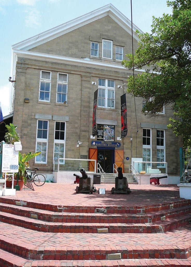 The Mel Fisher Maritime Museum in Key West. PHOTO BY MARC AVERETTE