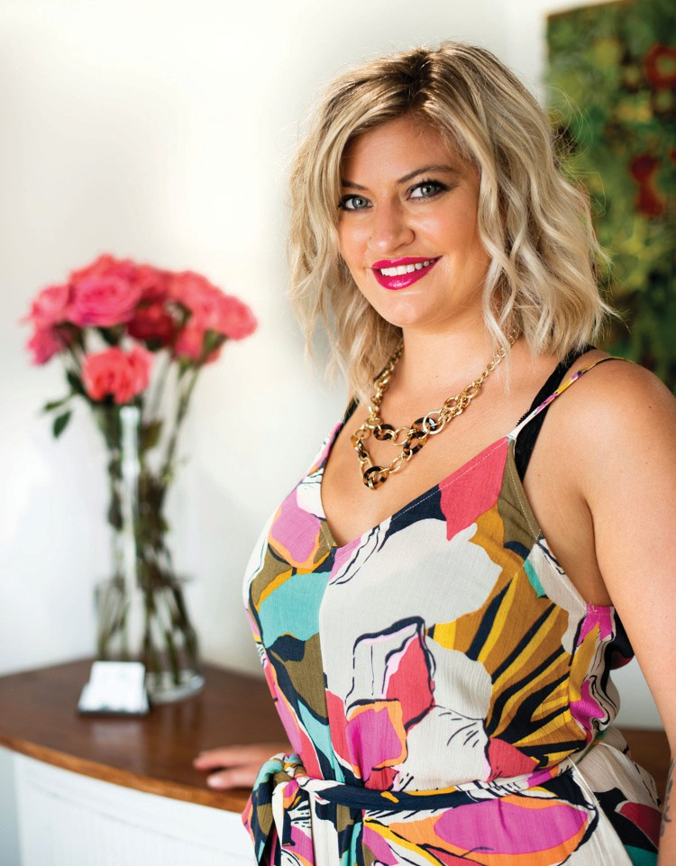 Courtney Howard, owner of the CocoPlum Island Salon, moved to Key West eight years ago. COURTESY PHOTO