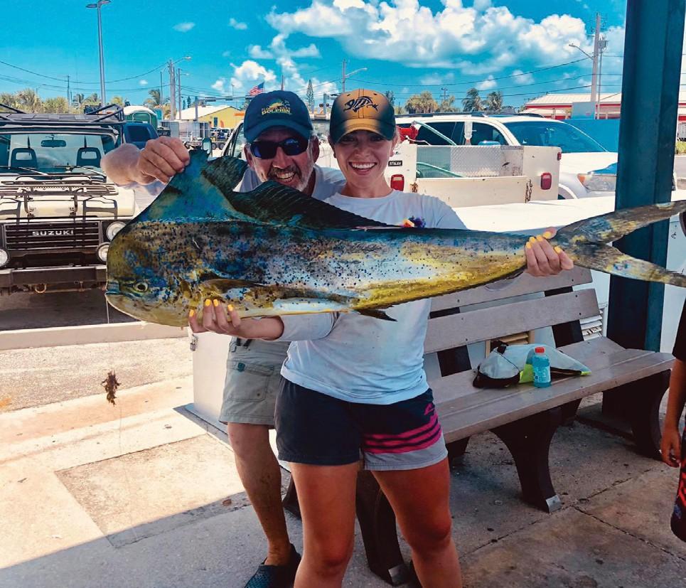 Compass Rose Charters: Had a nice day fishing today. — Capt. Mike Weinhofer 1801 N Roosevelt Blvd Key West, Florida 33040 305-95-3474 www.KeyWestFloridaFishing.com
