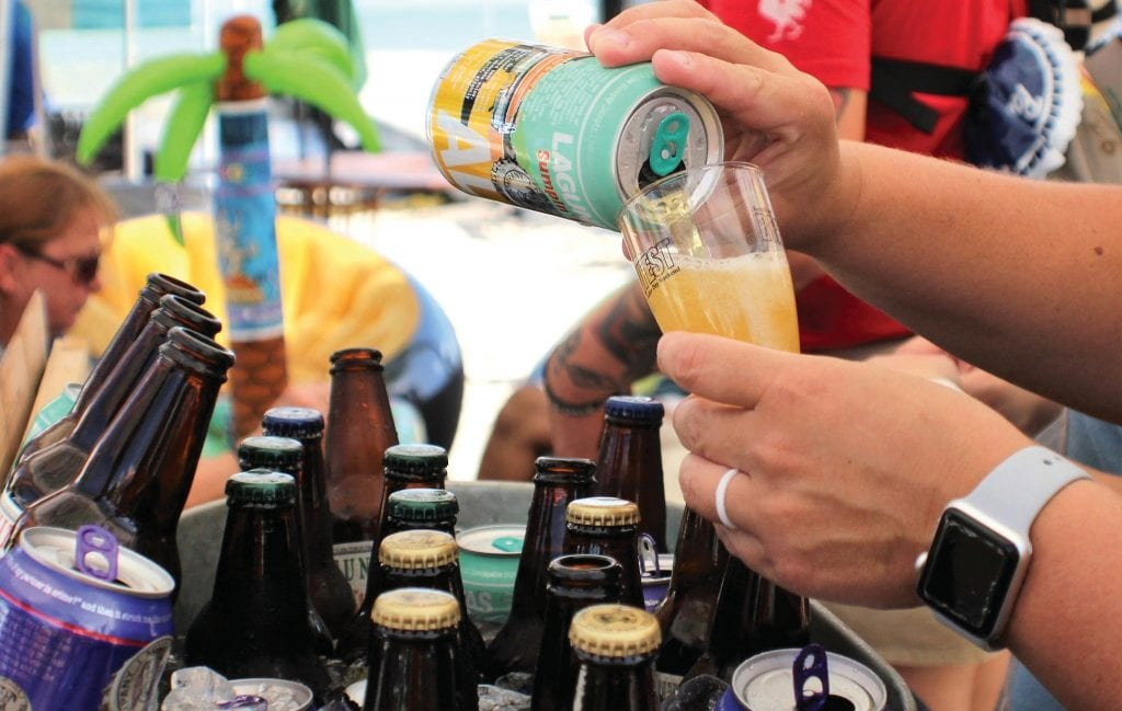 Let one of the many participating BrewFest breweries pour you a cold one.
