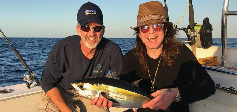 Even Ozzy Osbourne knows Compass Rose Charters is a great choice for fishing in Key West.