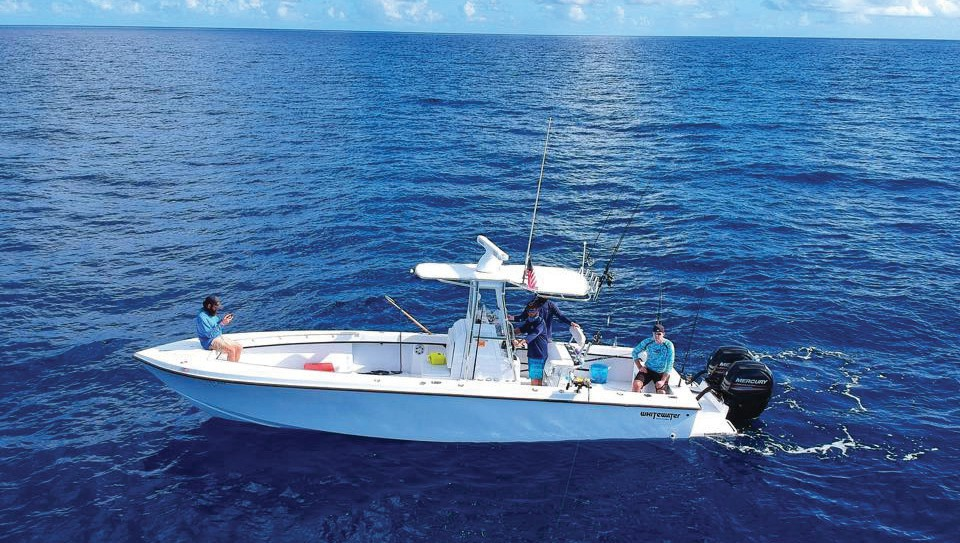 Local charter companies delight in showing off the bounties of the waters surrounding the Florida Keys.