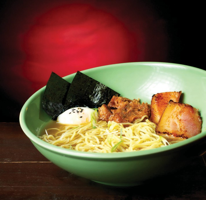 If all else fails, a bowl of Kojin's ramen will do the trick.