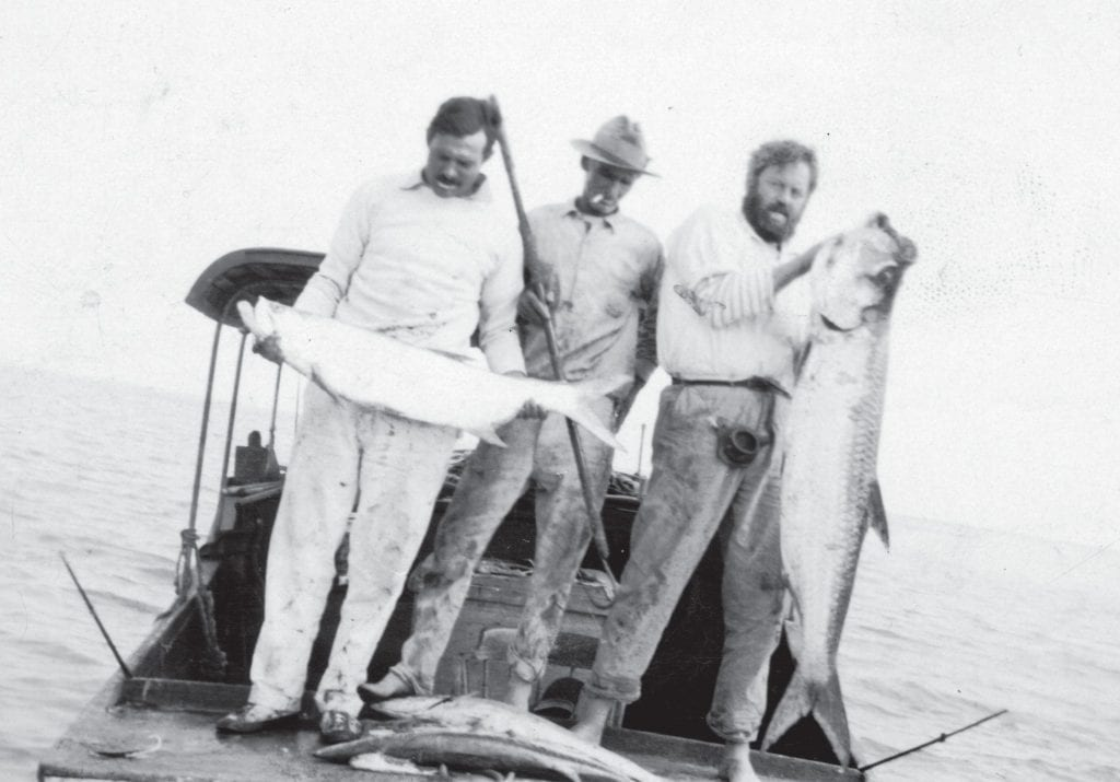 """Receive a free drink and enjoy stories of Ernest Hemingway's adventures fishing the waters between Key West and Cuba in another edition of Happy Hour with the Historian called """"Following the Fish: Hemingway in Key West,"""" Sept. 11, 4:30 p.m., BottleCap, 1128 Simonton St., www.kwahs.org."""