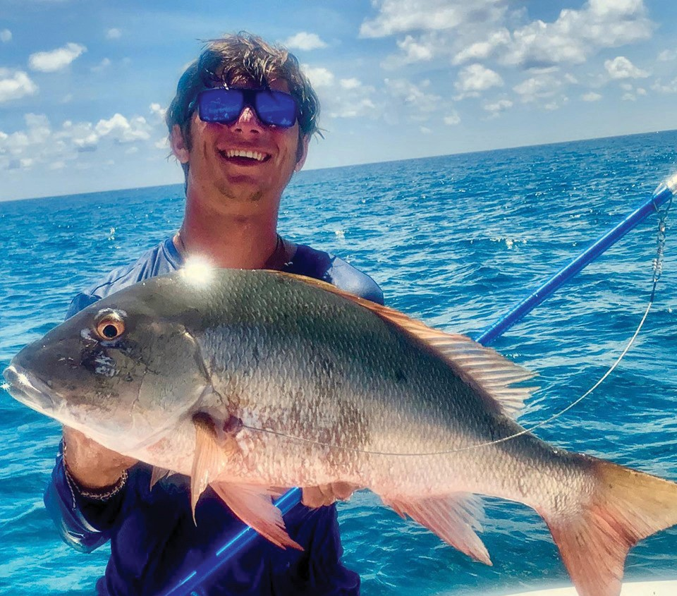 Cowboy Cowgirl Sportfishing Charters: Blue Cowboy making it happen in Bimini! Taylor had to fight hard for this one! We find em, you wind 'em ... that's what we do. — Capt. Mark Baumgarten 1801 N. Roosevelt Blvd., Key West Private and shared charters 305-294-5888 keywestfishing-charters.com