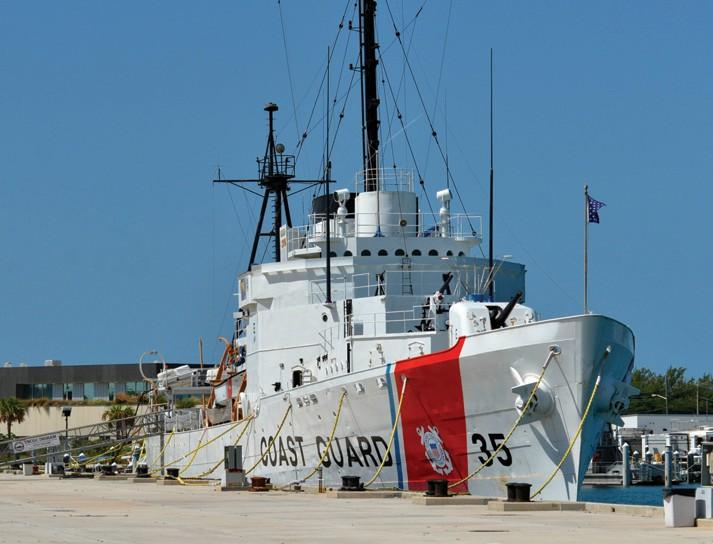 The U.S. Coast Guard Cutter Ingham Maritime Museum. SHUTTERSTOCK.COM