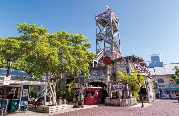 Learn about Key West's treasure hunting history at the Shipwreck Treasures Museum.