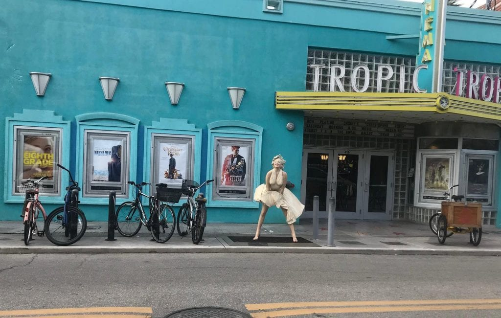 Tropic Cinema in Key West has been voted one of the best cinemas in Florida. COURTESY PHOTOS