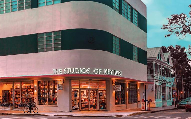 The Studios of Key West's art deco facade. COURTESY PHOTO