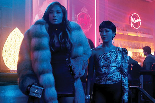 "Jennifer Lopez and Constance Wu star in ""Hustlers."" STX / COURTESY PHOTO"