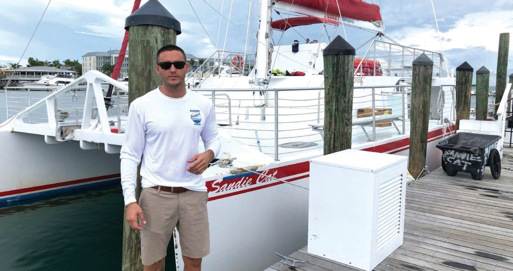 Nate Knight is the director of sales and marketing for Sunset Watersports. COURTESY PHOTO