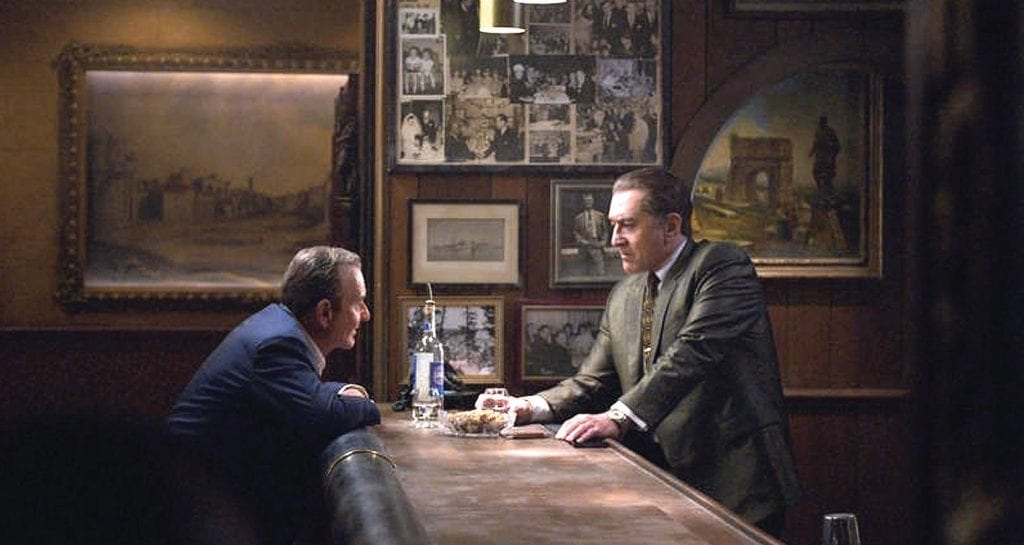 "Martin Scorcese's movie ""The Irishman,"" starring Robert De Niro and Joe Pesci, will screen in limited theaters on Nov. 1 after playing at the New York Film Festival. Then you can stream exclusively on Netflix starting Nov. 27. NETFLIX"