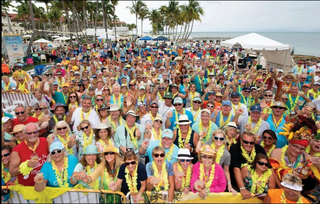Thousands of Parrot Heads gather at the Casa Marina to party with a purpose during the annual Meeting of the Minds. COURTESY PHOTOS