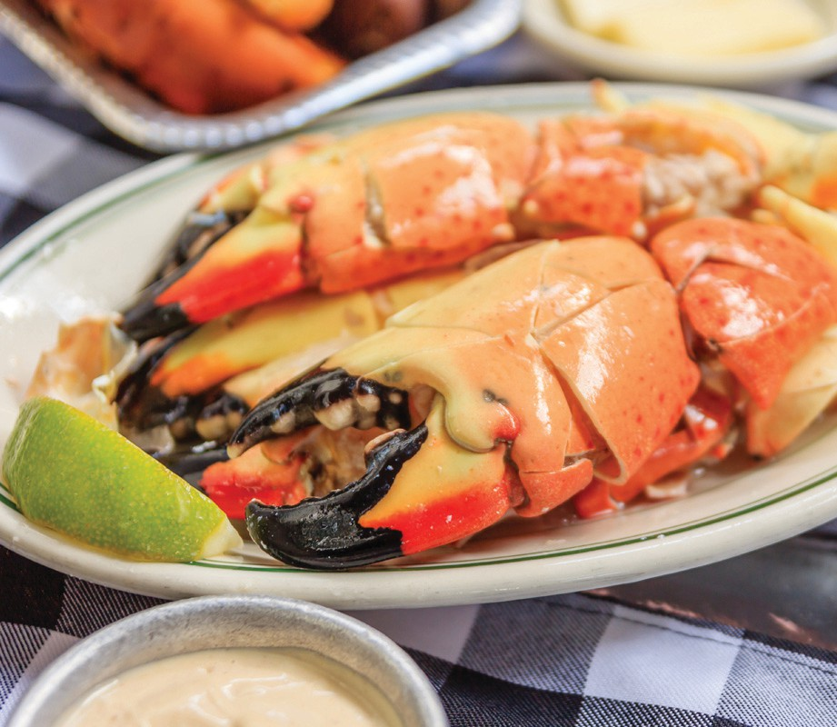 ¦ Fishbusterz Retail Seafood Market: Stone crab season is here. Fresh at the market. Large claws: $28 per pound Jumbo claws: $35 per pound Colossal claws: $42 per pound — Fishbusterz Retail Seafood Market 6406 Maloney Ave., Key West 305-294-6456 www.keywestseafooddepot.com