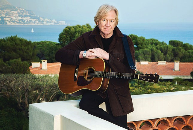 Justin Hayward came to fame as the vocalist, lead guitarist and composer for The Moody Blues. See him live Nov. 8. Doors at 7 p.m., show at 8 p.m., Key West Theater, 512 Eaton Street, www.thekeywesttheater.com. COURTESY PHOTO