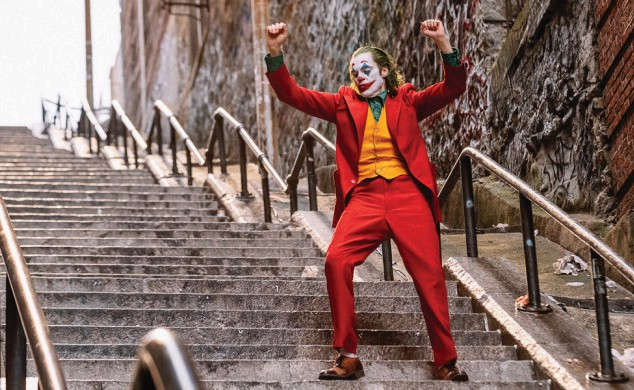 "Joaquin Phoenix plays Arthur Fleck in ""Joker."""