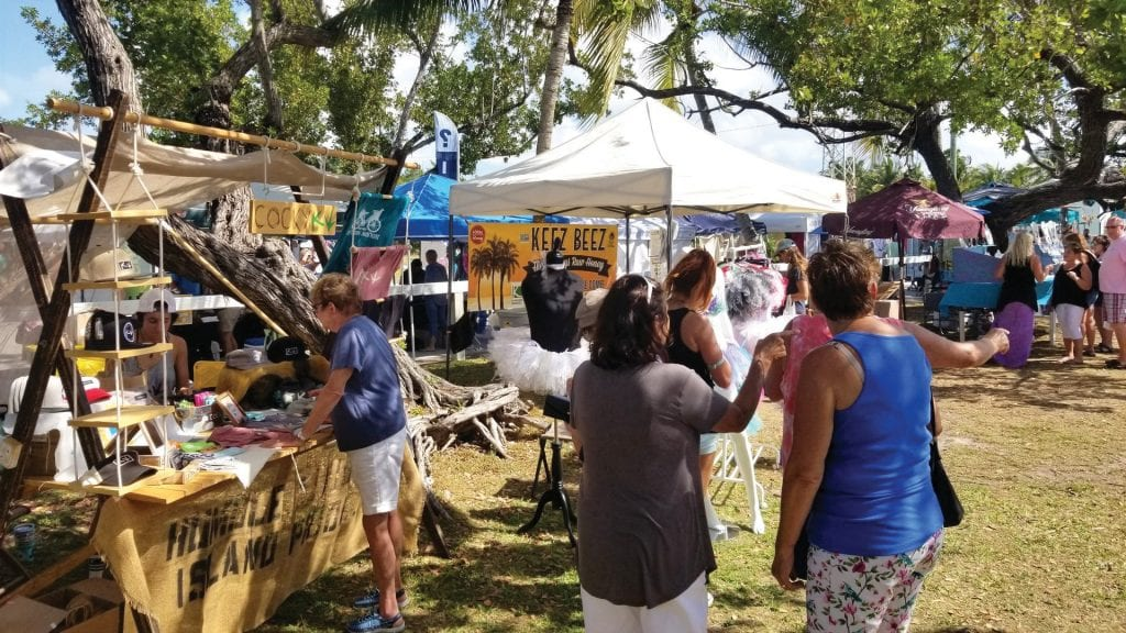 It is the second year at Higgs Beach, the Key West Artisan Market's newest home.