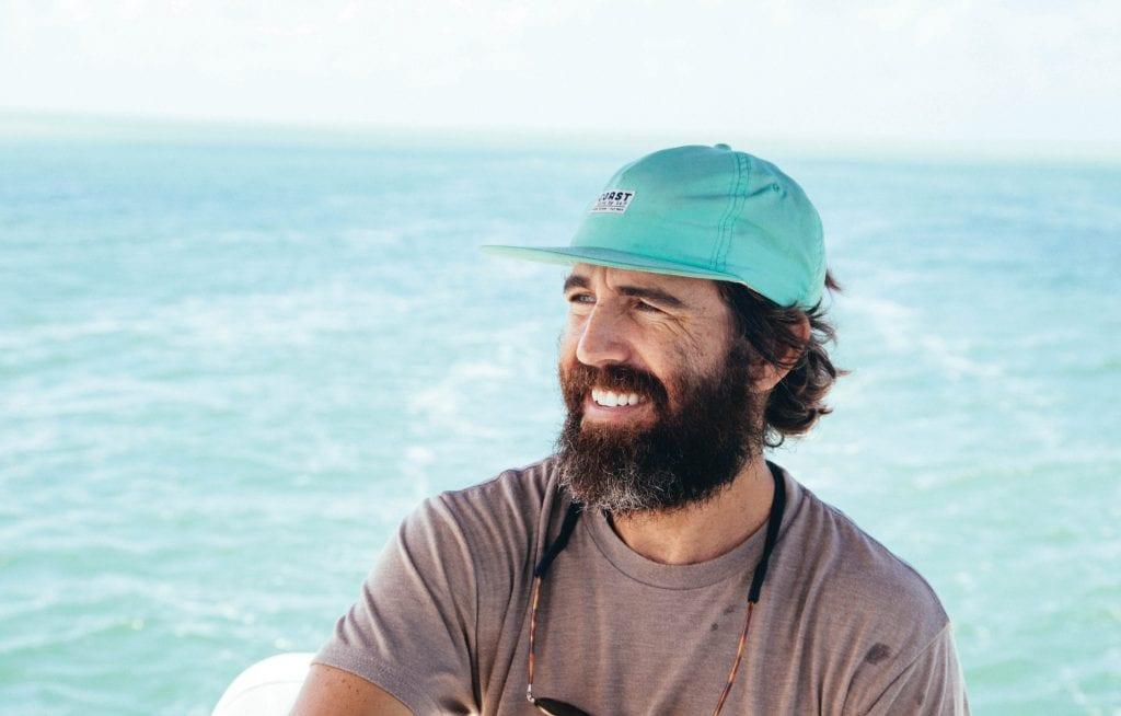 Billy Kearins smiles on a boat. COURTESY PHOTO