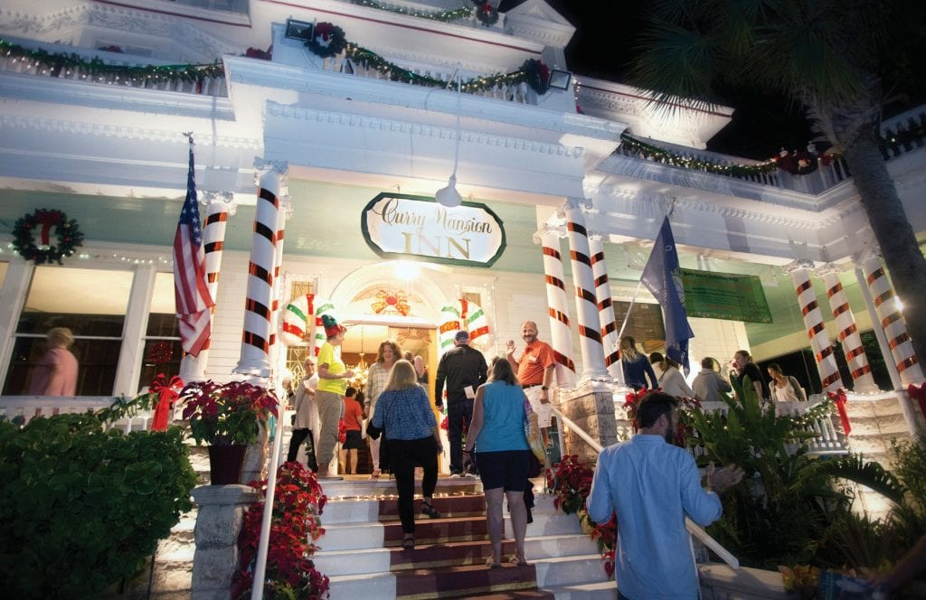 Amsterdam's Curry Mansion Inn is one of the stops on the Holiday Historic Inn Tour on Friday, Dec. 6. COURTESY PHOTOS