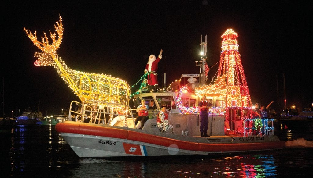 The Lighted Boat Parade is the quintessential Key West holiday event.