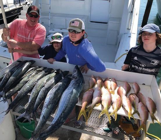 ¦ Southpaw Fishing Key West: Another busy morning. — Capt. Brad Simonds 5950 Peninsular Ave., Key West 305-393-2306 southpawfishingkeywest.com