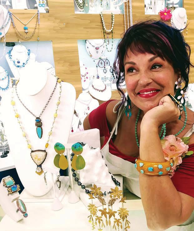 Barb Grob, founder of Key West Local Luxe jewelry boutique. PHOTO BY TIM LORBER