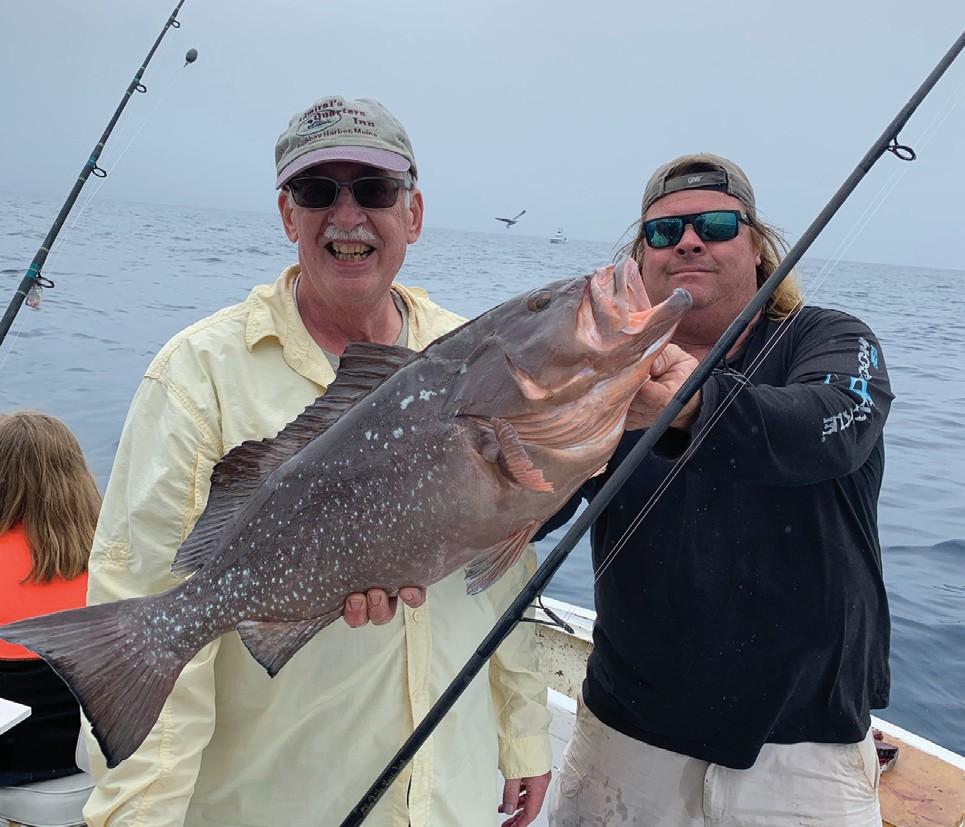 ¦ Wild Bill Charters: How about that for grouper? — Capt. Artie Duplessis 1801 N. Roosevelt Blvd., Key West 305-744-7957 www.wildbillkeywest.com