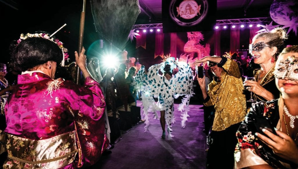 The Mystick Krewe Mardi Gras Ball is a feast for the senses.