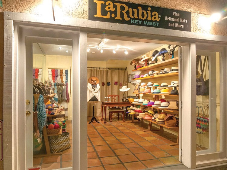 La Rubia Panama Hats is the Florida Keys' only importer of authentic Panama hats. COURTESY PHOTO