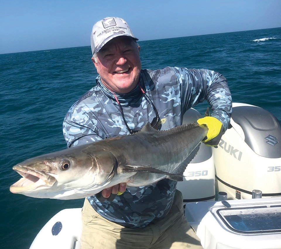 ¦ Reel Fly Charters: Scott had an awesome time #flyfishing in the #gulfofamerica. He didn't want to mess with the 50 pound AJ that was eating at the transom. #cobia #amberjack #bonito #fishingcharter #fishinglife #fishingboat — Capt. Chris Trosset 5130 US Highway 1, Key West 305-747-4719 reelflykeywest.com/