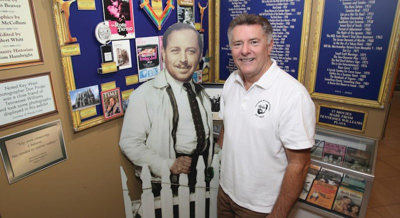 Distinguished Speaker Series – Dennis Beaver: Tennessee Williams in Key West, Feb. 27, 6 p.m., Old City Hall, 510 Greene St., www.kwahs.org. Dennis Beaver is curator of the Tennessee Williams Museum and has always been fascinated with the history of Key West and the legendary people who have called it home.