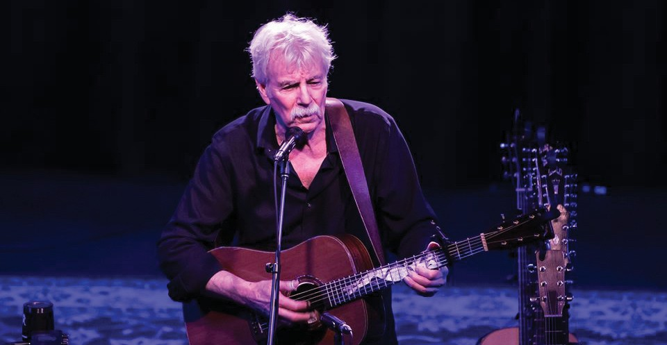 Tom Rush, March 9, 8 p.m., Studios of Key West, 533 Eaton St., www.tskw.org. Rush's shows are filled with comical storytelling, melancholy ballads and gritty blues. COURTESY PHOTO