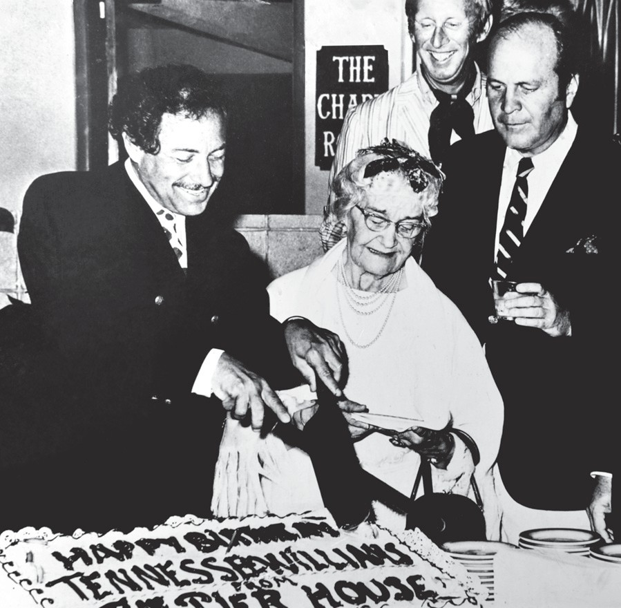 A Tennessee Williams' birthday celebration. COURTESY PHOTO