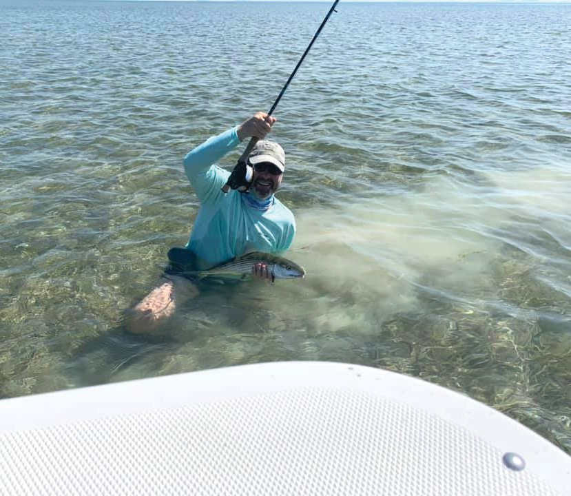 ¦ Eric Ryan Fishing: Rob Kaufman hooked up with another bone! Lots of fishies before the storm. — Eric Ryan Fishing Hurricane Hole Marina, 5130 US Hwy. 1, Key West 248-21-5558 Flatsfishingthekeys.com