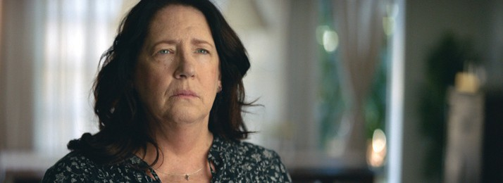 """Ann Dowd gets a visit from her old boyfriend who has not changed in """"Speed of Life. COURTESY OF LIZ MANASHIL"""
